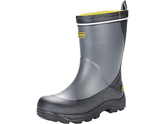 Viking Footwear Storm Gummistøvler Børn, dark grey/multi